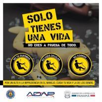 ATTT lanza campaña para prevenir accidentes de tránsito en estos carnavales