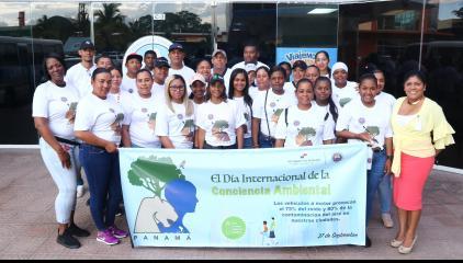 Personal Administrativo e Inspectores Participan de la Caminata
